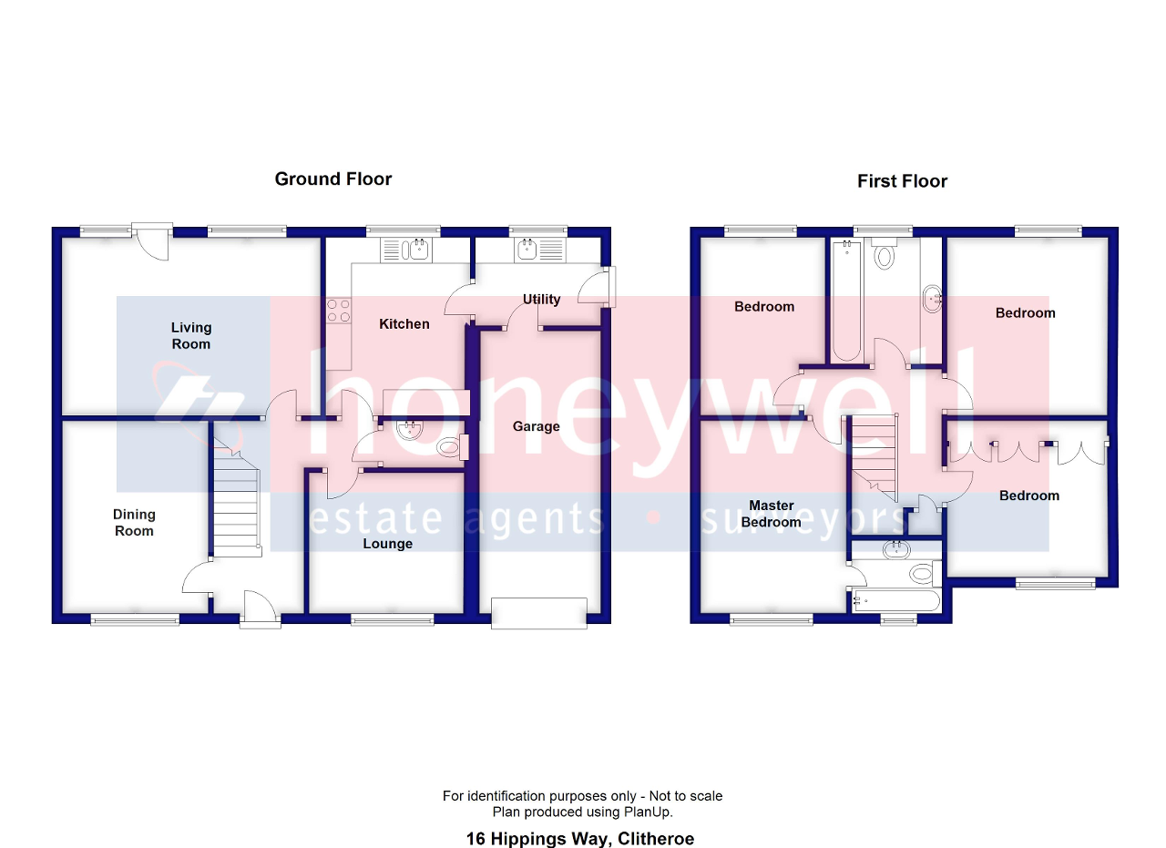 Floorplan of Hippings Way, Clitheroe, BB7 2PQ