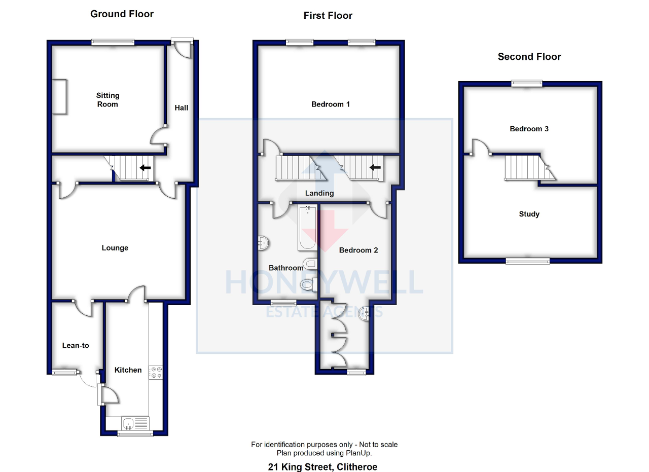 Floorplan of King Street, Clitheroe, BB7 2EU