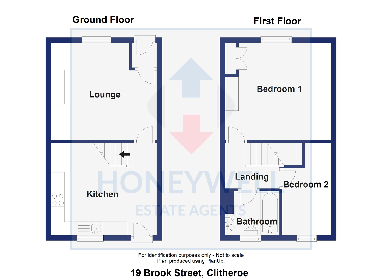 Floorplan of Brook Street, Clitheroe, BB7 1NR