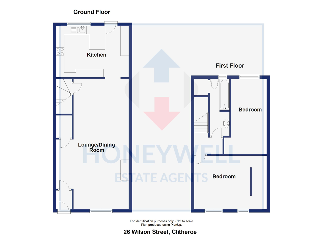 Floorplan of Wilson Street, Clitheroe, BB7 1BH
