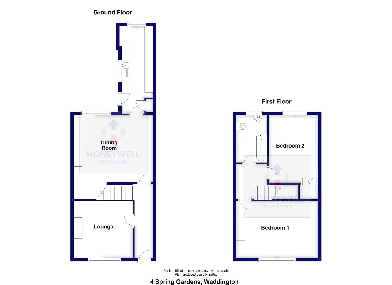Floorplan of Spring Gardens, Waddington, BB7 3HH